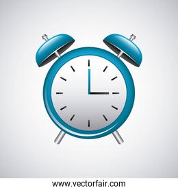 alarm time watch isolated icon