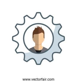 business people success icon