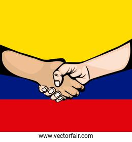Colombian peace agreement symbol
