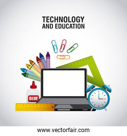 technology and education supplies