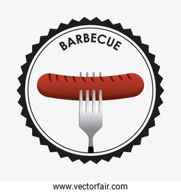 barbecue seal stamp