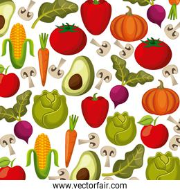 vegetables background design