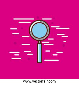 magnifying glass poster image