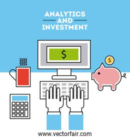 analytic and investments flat