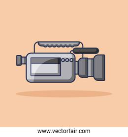 camcorder film movie video audio device