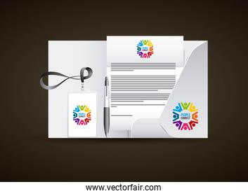 corporate identity branding business stationery advertising