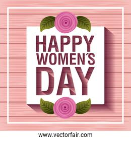 card happy womens day