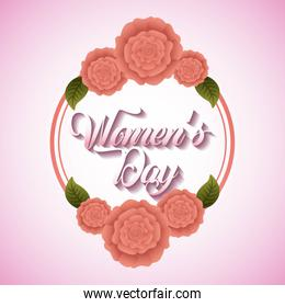 greeting card floral womens day