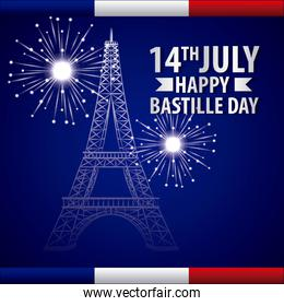 bastille day french celebration