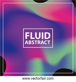 fluid abstract background