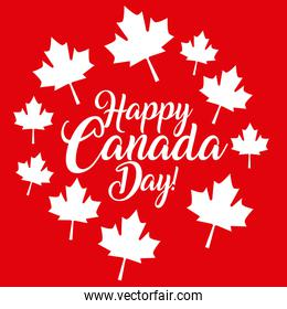 happy canada day card