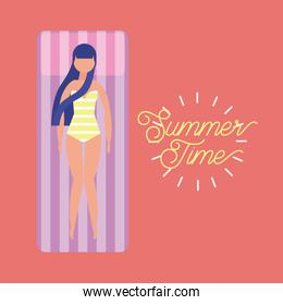 summer time vacation