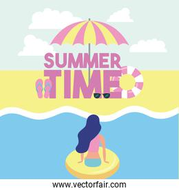 summer time vacations