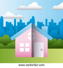 house residence home family protection