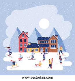 winter vacations christmas