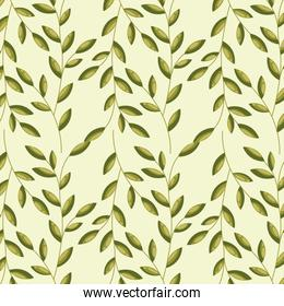 leaves decoration card
