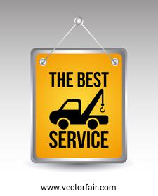 car services over gray background vector illustration