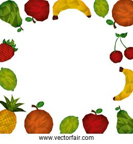abstract fruit
