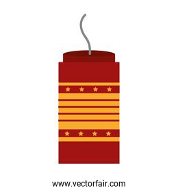 carnival firework isolated icon