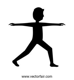 sport fitness stretching man healthy lifestyle