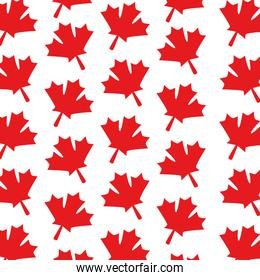 maple leafs pattern background