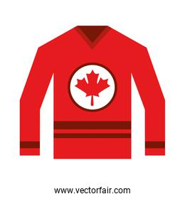 jersey with flag canadian
