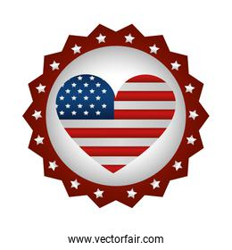 united states of america lace