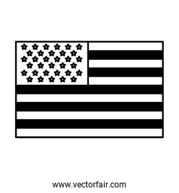 usa flag official colors and proportion national