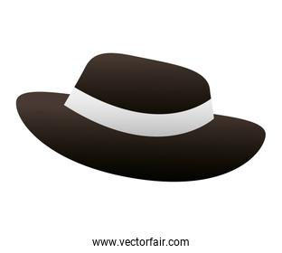 hat for men accessory isolated icon