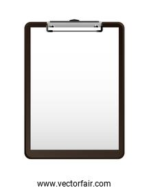 business clipboard supply empty image