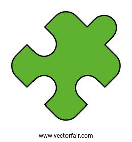 puzzle jigsaw piece strategy planning business concept