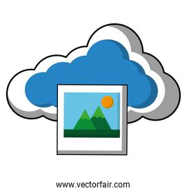 cloud computing with picture file