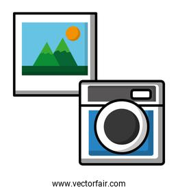 camera photographic with picture