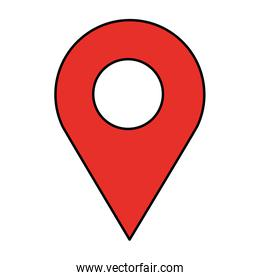 gps navigation location pointer image
