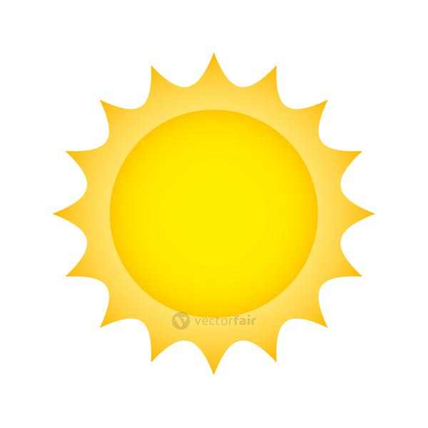 sun climate summer isolated icon