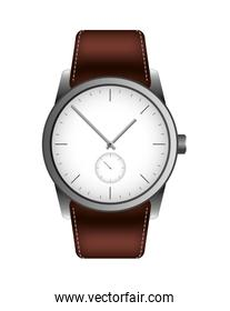 wristwatch masculine isolated icon