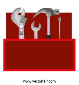 tools kit container icon