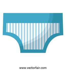 baby shower card with pants blue striped