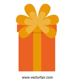 wrapped gift box bow decoration