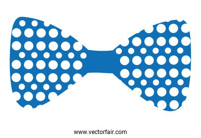 bow tie with points isolated icon