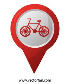 bicycle route pointer gps navigation location image