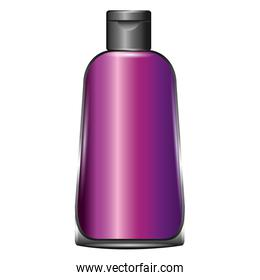 plastic bottle for cosmetic packaging for shampoo