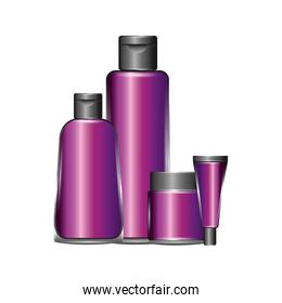 package beauty cream bottles treatment cosmetic