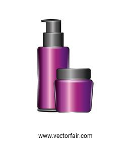 cosmetics packages beauty products set