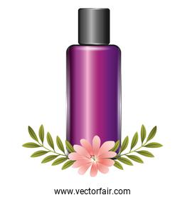 packaging cream container product cosmetic flowers essence
