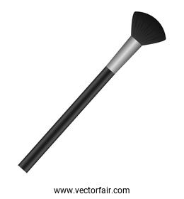 makeup brush isolated icon