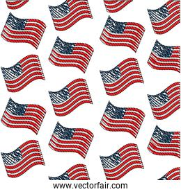 united states of america flag independence day background
