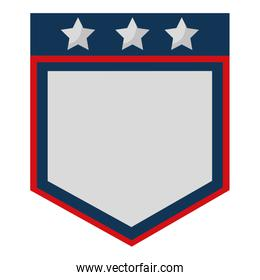 united stated of america shield
