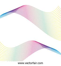 lines and colors workart background