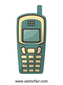 old cellphone retro style